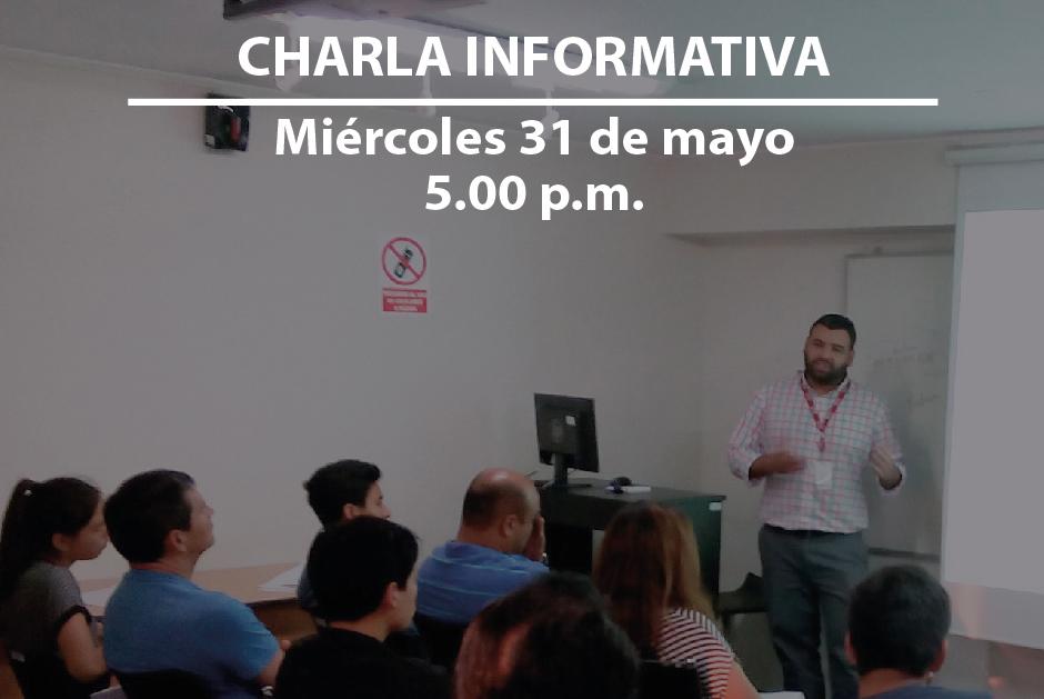 Estás cordialmente invitado a la charla informativa